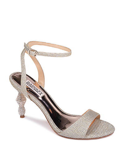 Gold Evening Shoes | Neiman Marcus