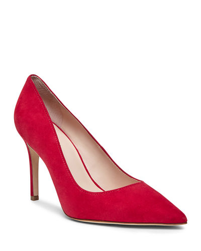vivian suede stiletto pumps