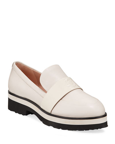 Violetta Lug-Sole Loafers