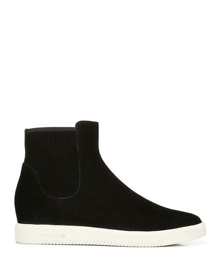 Image 2 of 4: Vince Ilona Suede High-Top Sneakers