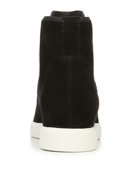 Image 4 of 4: Vince Ilona Suede High-Top Sneakers