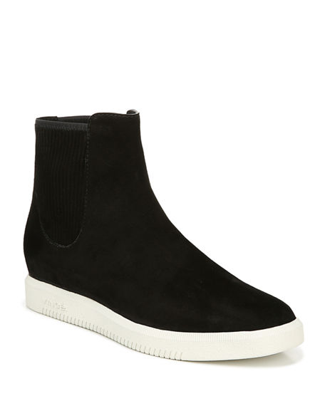 Image 1 of 4: Vince Ilona Suede High-Top Sneakers