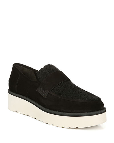 Zola Suede Chunky Loafers