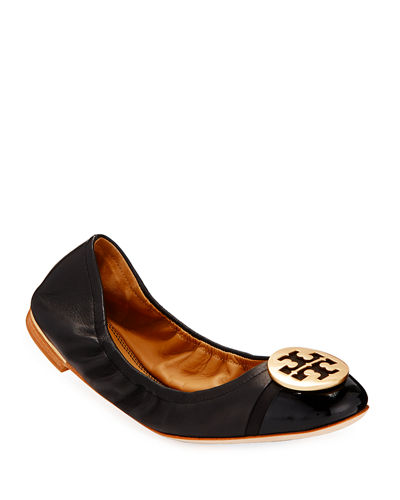 Minnie Cap-Toe Ballet Flats