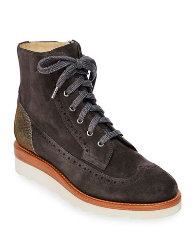 Mr. Harrison Combat Lace-Up Boots