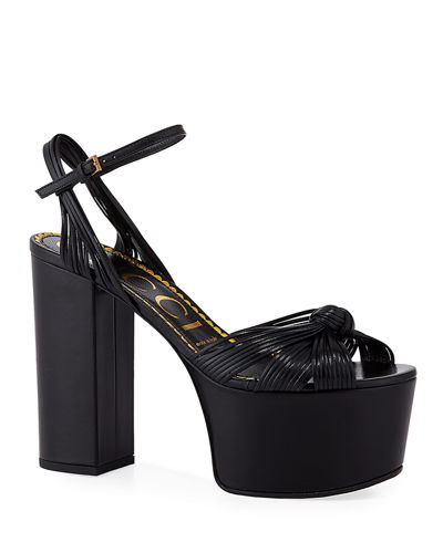 Crawford 125mm Leather Platform Sandals
