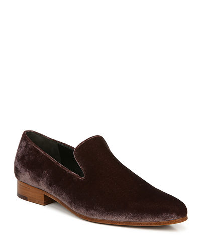 Lela Smart Velvet Loafers