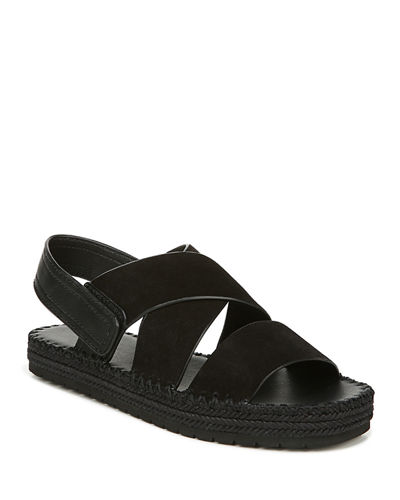 Tenison 2 Flat Suede/Leather Espadrille Sandals