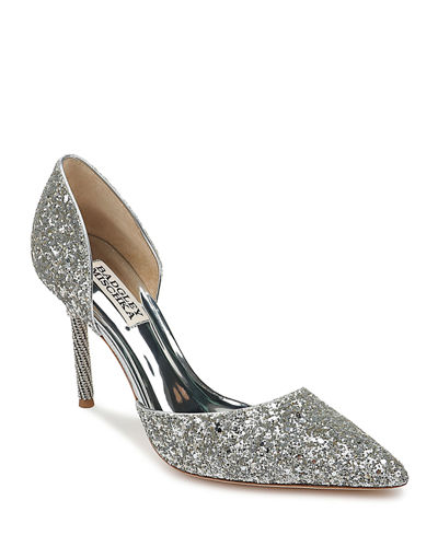 Ozara Glitter Pumps