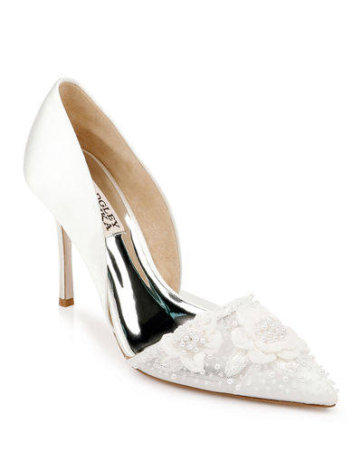 Ophelia Embellished Slip-On Pumps