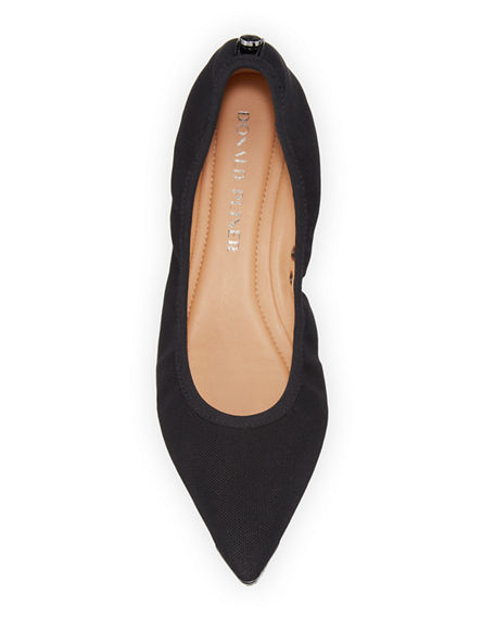Image 4 of 5: Donald J Pliner Ramon Stretch Ballet Flats