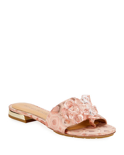 Frances Embellished Brocade Sandals