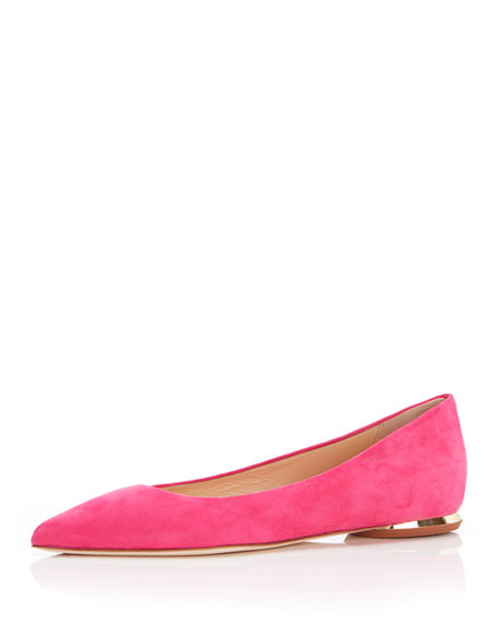 Marion Parke Must Have Suede Ballet Flats