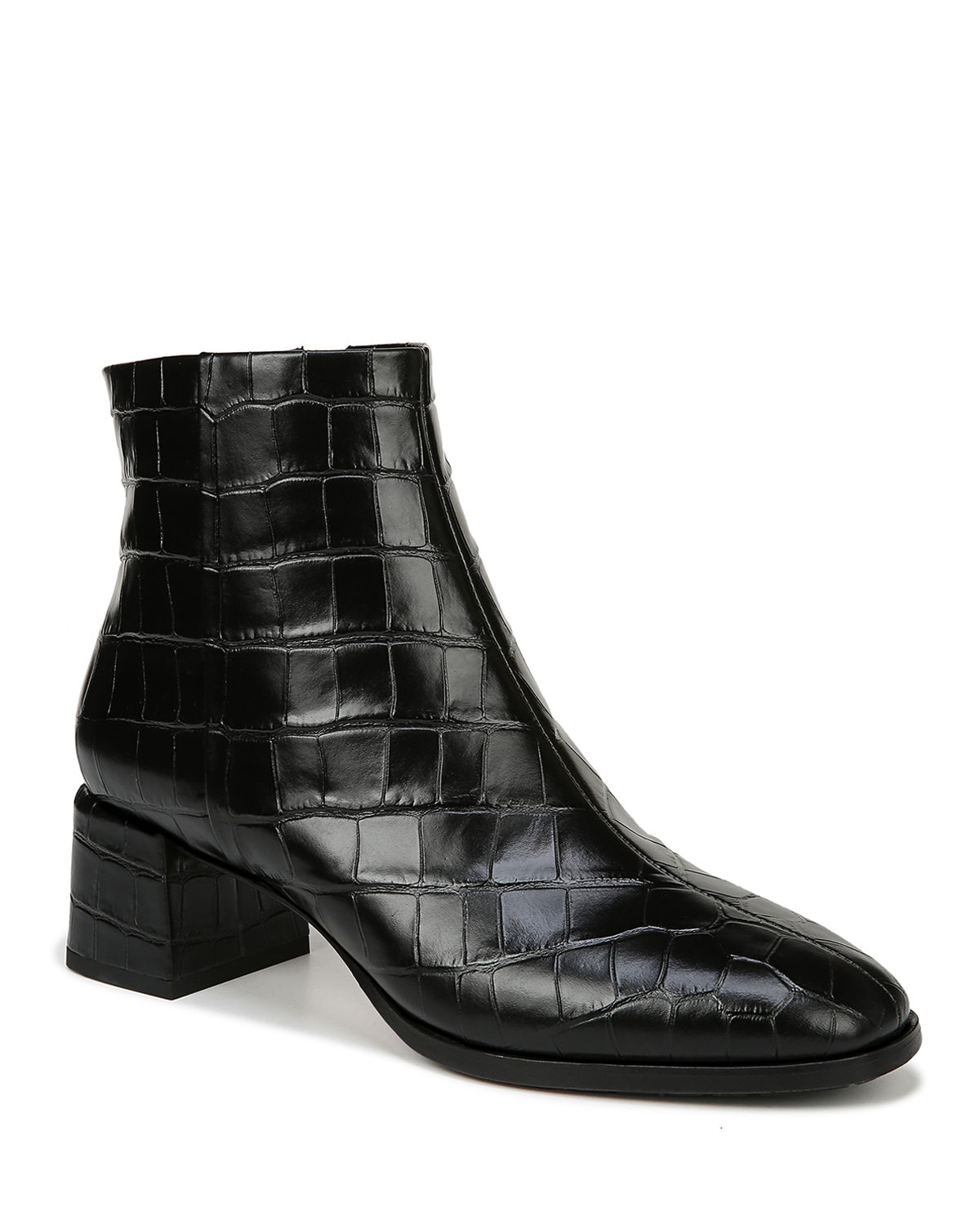 Via Spiga Boots SAHIRA MOCK CROC ZIP BOOTIES