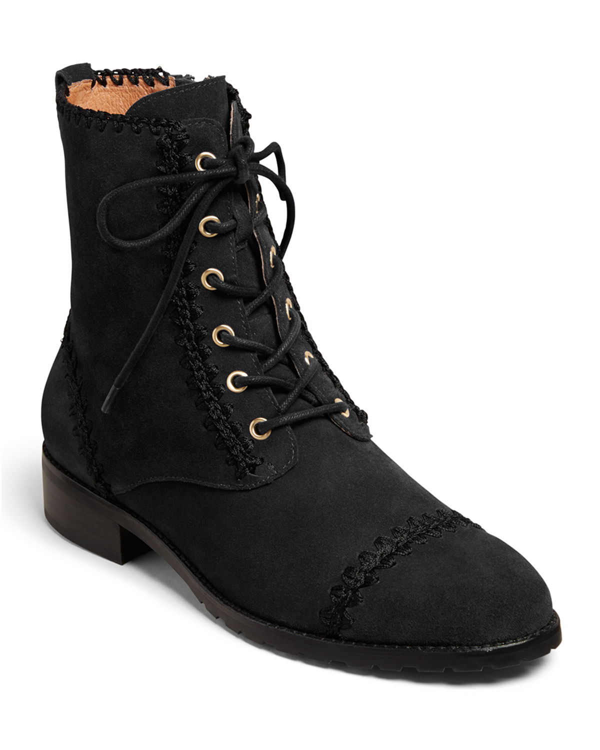 Jack Rogers Boots GEMMA LACE-UP BOOTIES
