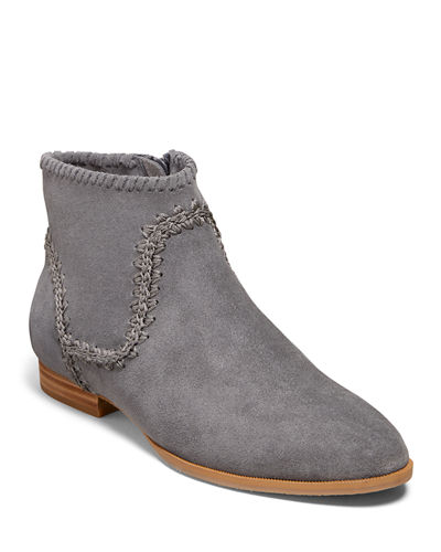 Gemma Waterproof Suede Booties