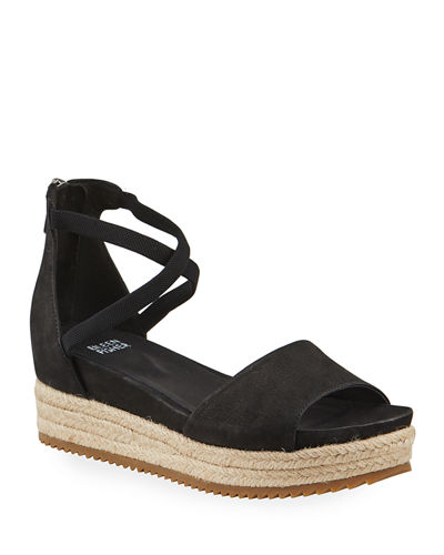 Eileen Fisher Island Wedge Sandals