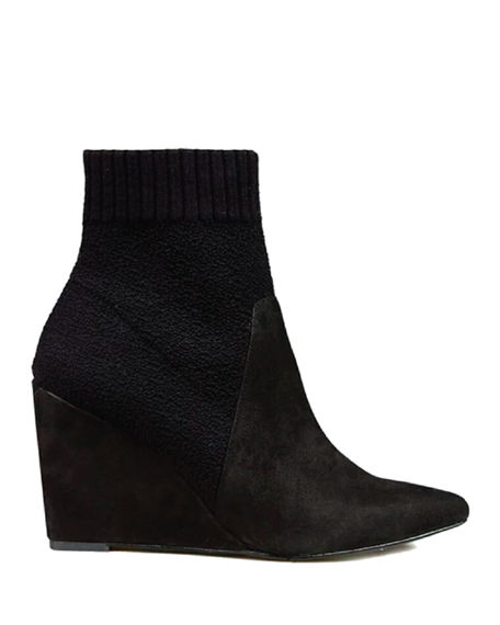 Image 2 of 2: Cecelia New York Renata Wedge Booties