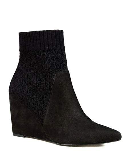 Image 1 of 2: Cecelia New York Renata Wedge Booties