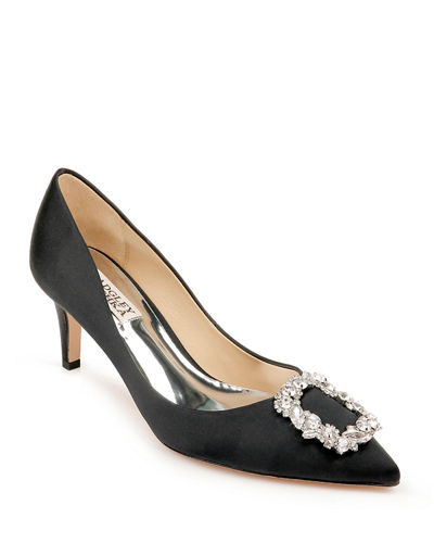 Crystal Evening Shoes Neiman Marcus