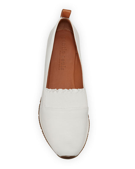 Image 3 of 4: Gentle Souls Roxanne Ruffle Slip-On Sneakers