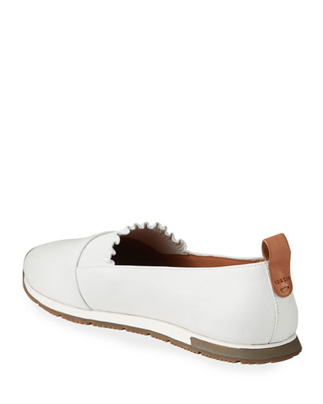Image 4 of 4: Gentle Souls Roxanne Ruffle Slip-On Sneakers
