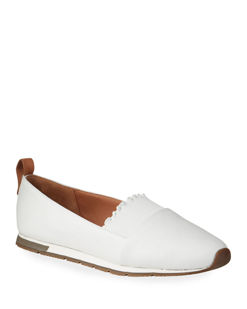 Gentle Souls Roxanne Ruffle Slip-On Sneakers