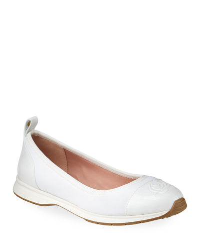 Bailey Patent Rose Ballet Sneakers