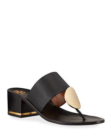 Tory Burch Patos Disk 45mm Sandals