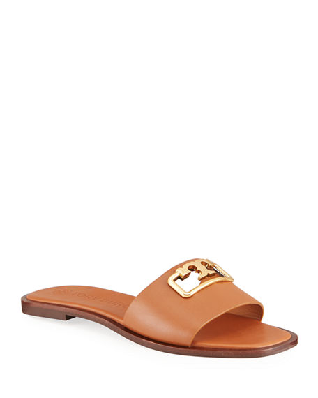 Tory Burch Selby Medallion Slide Sandals
