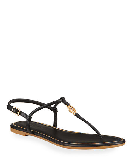 Tory Burch Emmy Medallion Thong Sandals