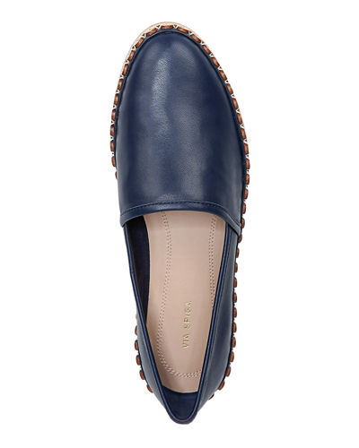 Via Spiga Caila Flat Slip-On Espadrilles