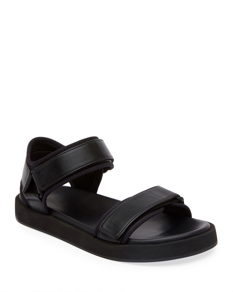 THE ROW Hook-and-Loop Sandals