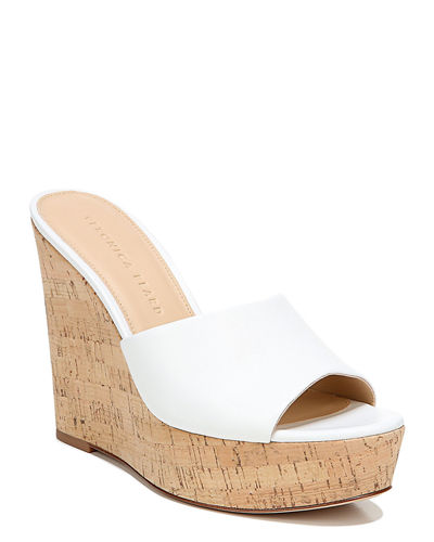 Veronica Beard Dali Platform Wedge Sandals