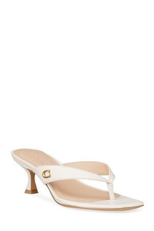 Coach Audree Thong Sandals