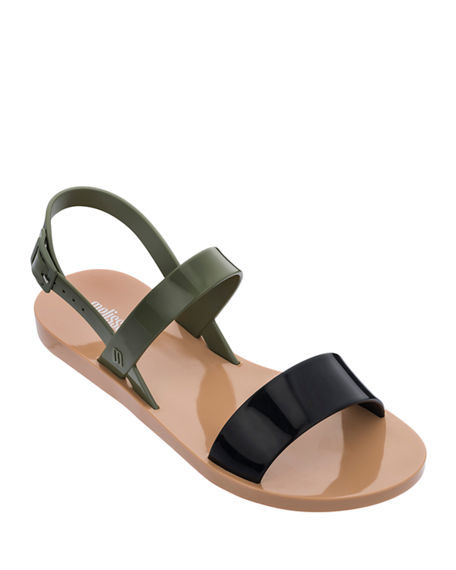Melissa Shoes Lip Ad Sandals