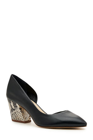Botkier Sena Half d'Orsay Leather Pumps