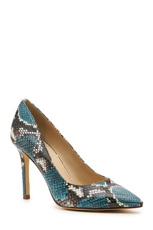 Botkier Marci Snake-Print Stiletto Pumps