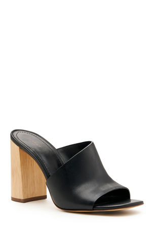 Botkier Ross Sleek Leather Mules