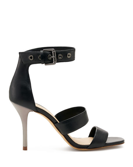Image 2 of 4: Botkier Lorri Two Band Ankle-Strap Sandals