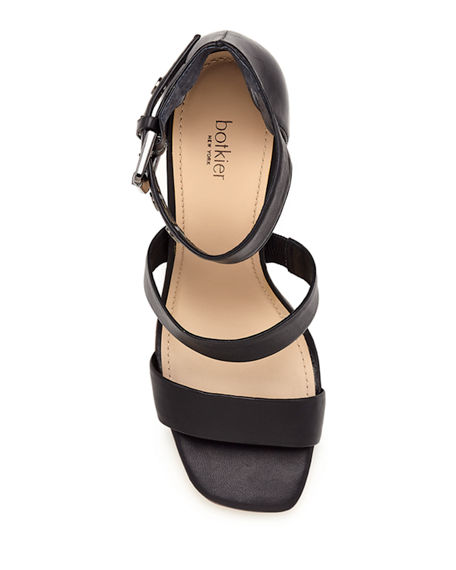 Image 3 of 4: Botkier Lorri Two Band Ankle-Strap Sandals