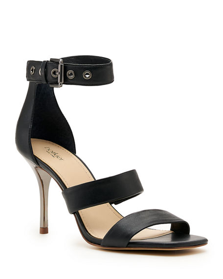 Botkier Lorri Two Band Ankle-Strap Sandals