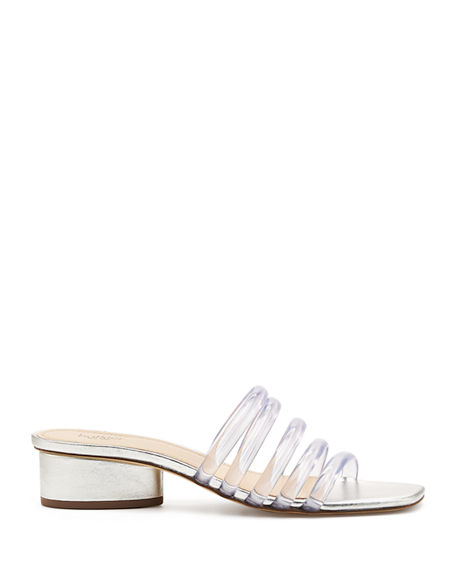 Image 2 of 4: Botkier Yani Jelly Caged Slide Sandals