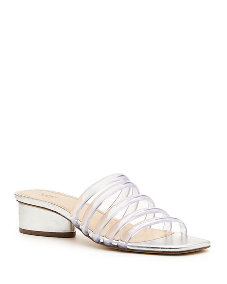 Image 1 of 4: Botkier Yani Jelly Caged Slide Sandals