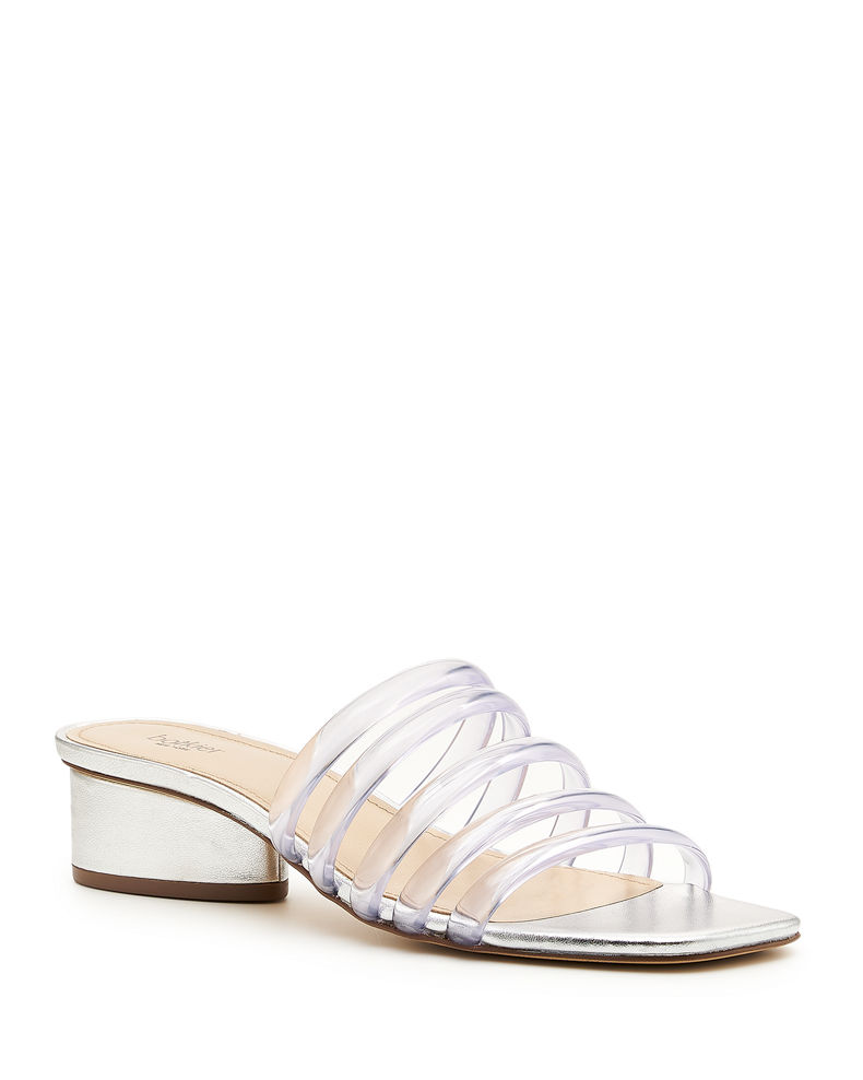 Botkier Yani Jelly Caged Slide Sandals