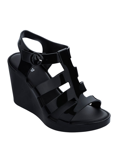 Image 1 of 3: Melissa Shoes Venus Wedge Sandals