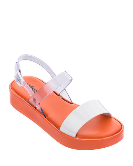 Image 1 of 3: Melissa Shoes Lip Platform Sandals