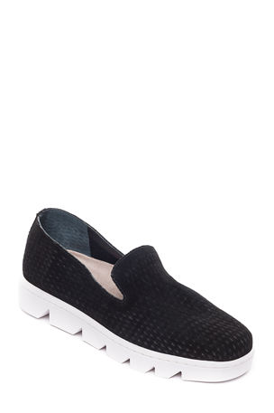 Bernardo Danica Suede Slip-On Sneakers