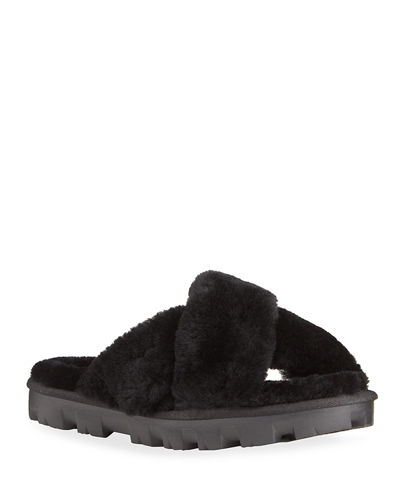 Fuzzette Slide Slippers
