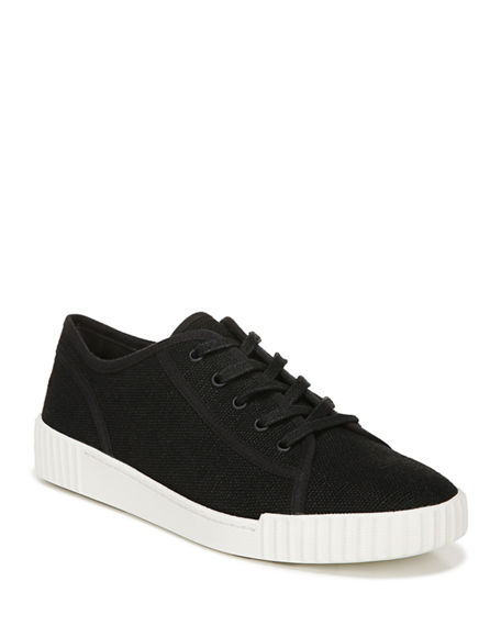 Vince WYETH CANVAS LOW-TOP SNEAKERS